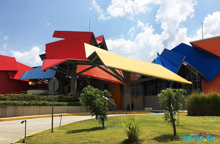 Biomuseo Panama colorful museum