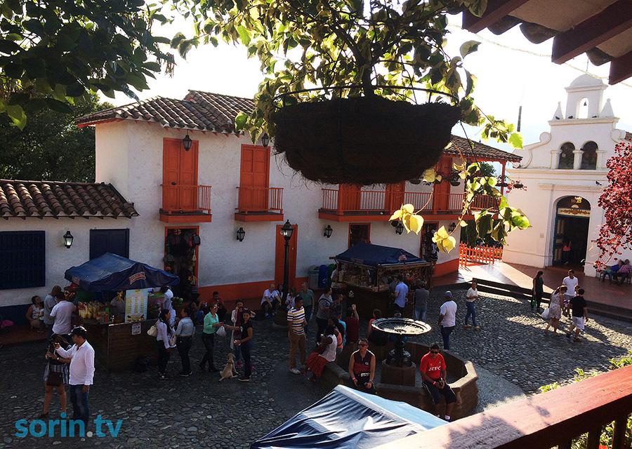 Pueblito Paisa Neighbourhood in Medellin
