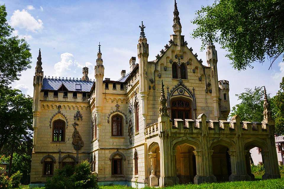 Castelul Dimitrie Sturdza Romania