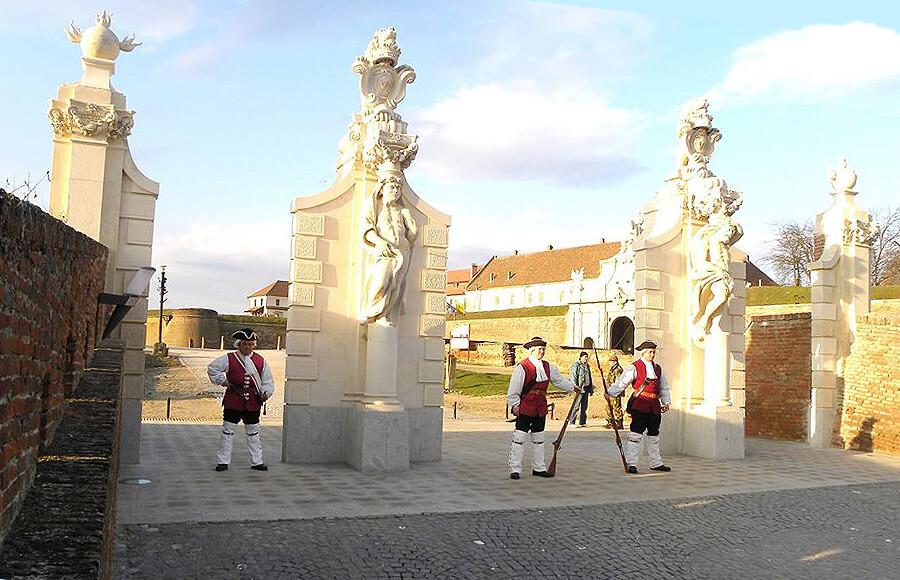 Cetatea Alba Iulia Romania