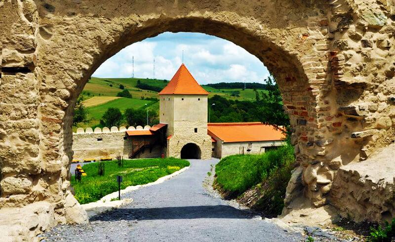 Cetatea Rupea Romania