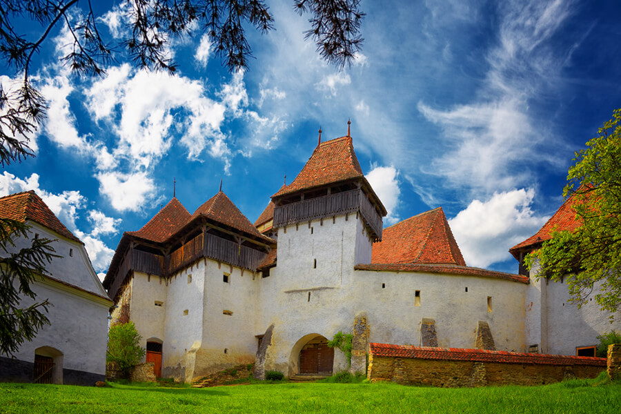 Cetatea Fortificate Viscri Romania