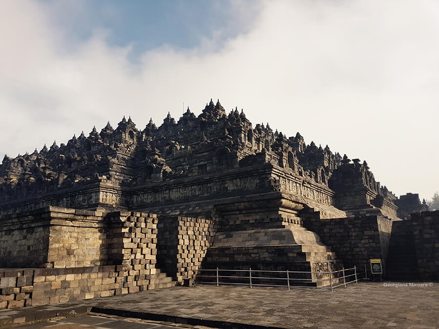 Borobudur Buddhist temple Compounds Indonesia