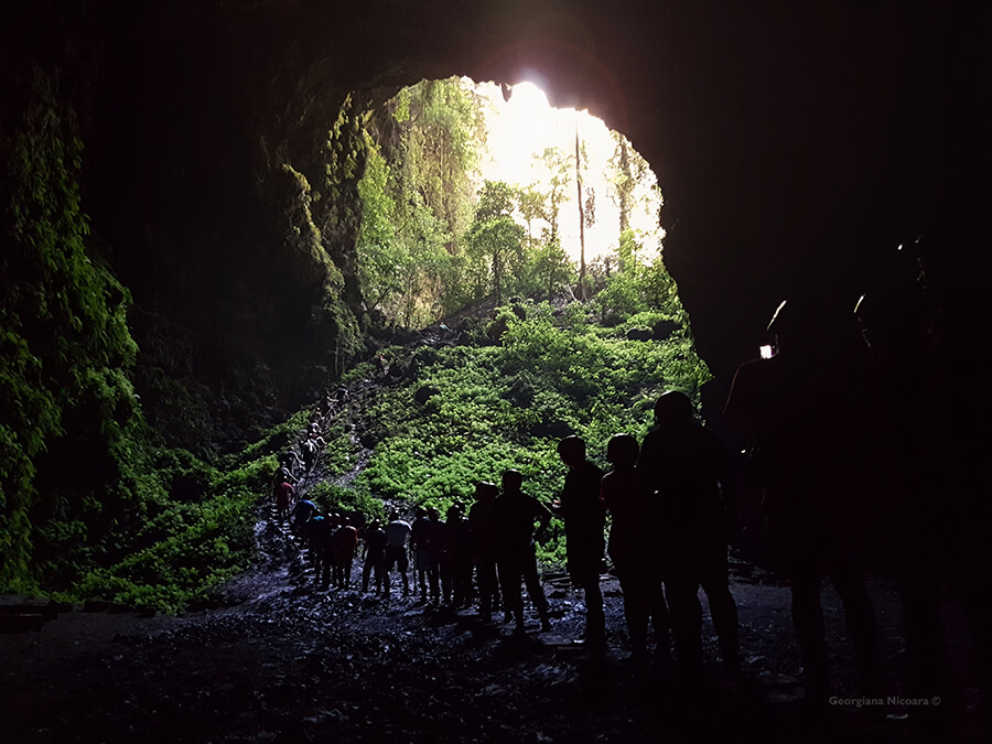 Jomblang Cave Java Indonesia