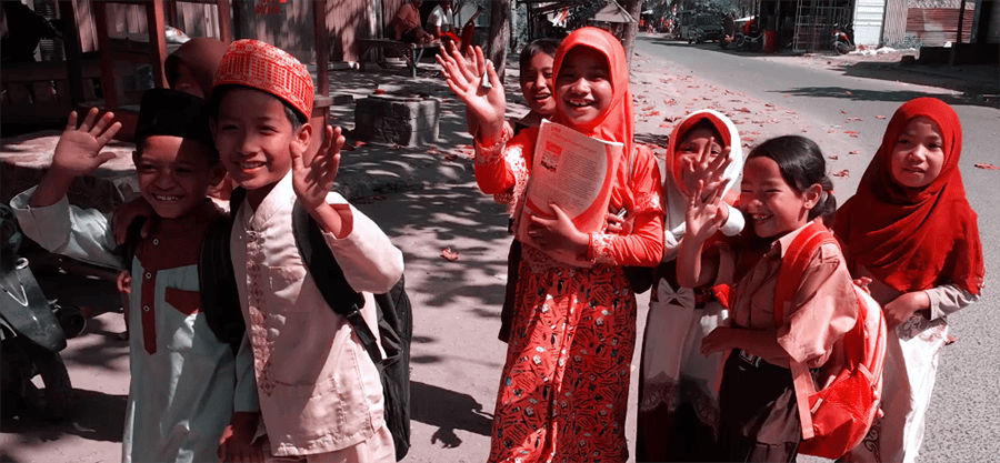 indonesian children kids