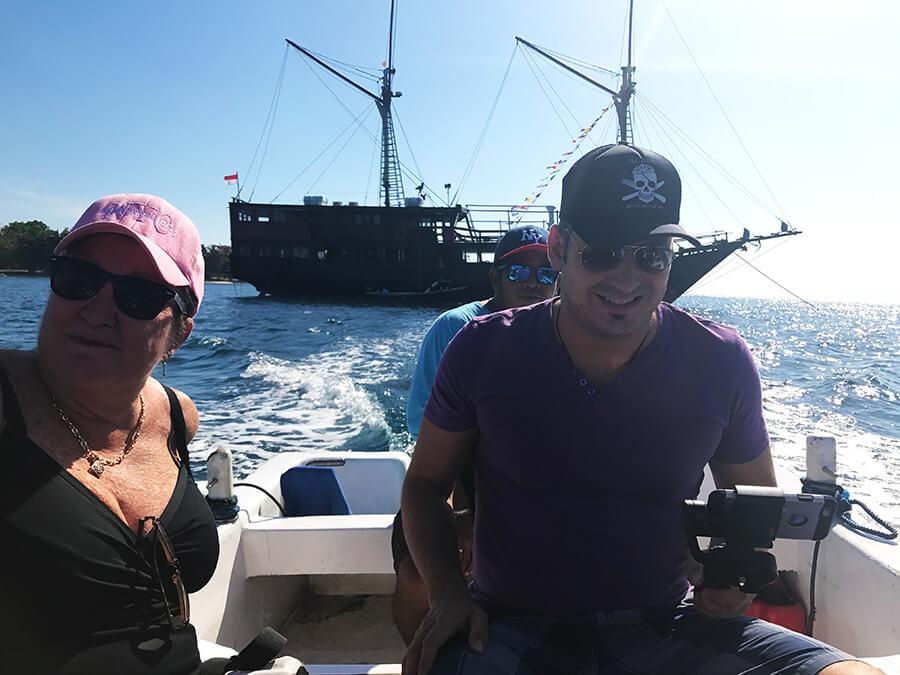 amanda zsebik owner al iikai pirate ship