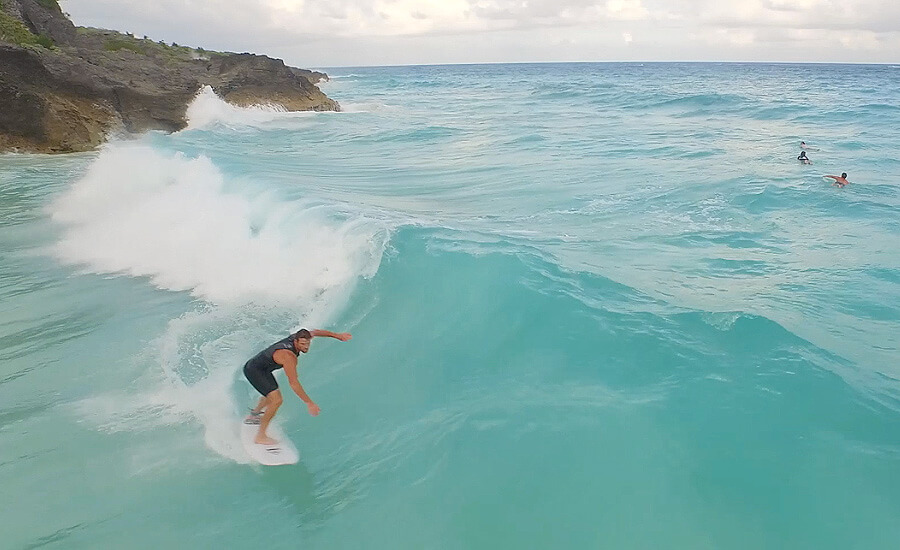 best places for surfing in bermuda