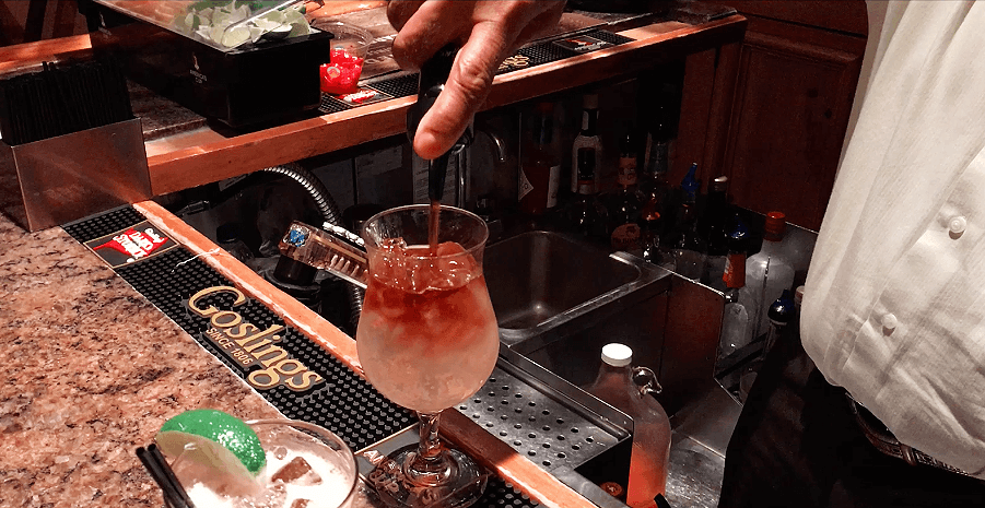 dark and stormy bermuda cocktail