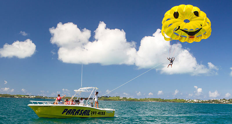 parasailing in bermuda ks watersports