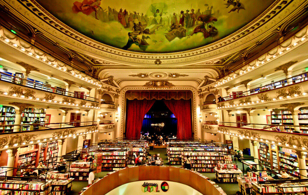 famous bookstore Buenos Aires