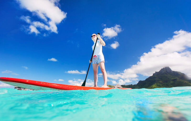 paddle board curacao