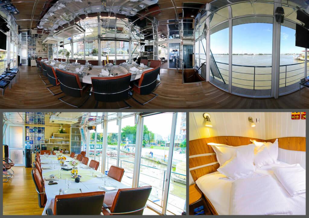 floating hotel Danube delta