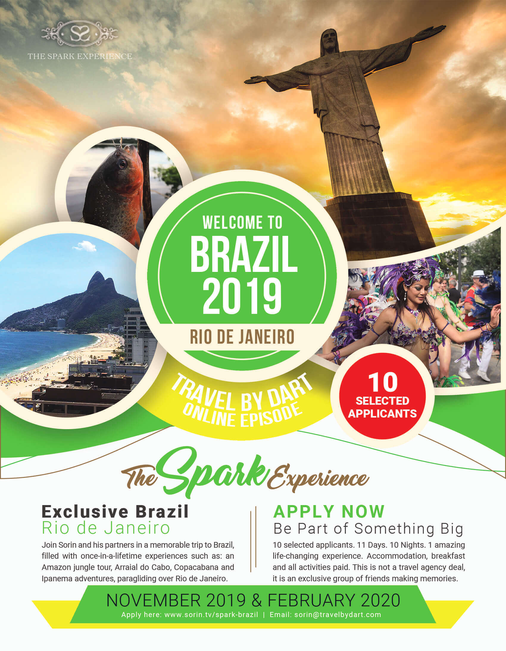 Visit Brazil For a Life-Changing Adventure: The Spark