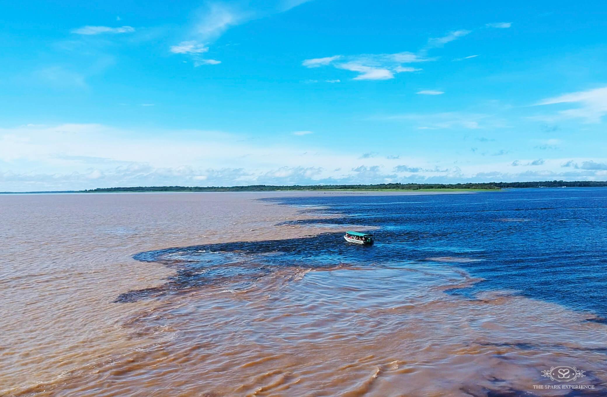rio negro solimoes amazon river