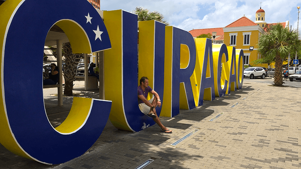 curacao sign willemstad