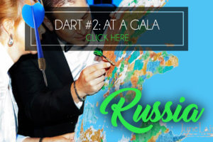 throw a dart at the world map Russia