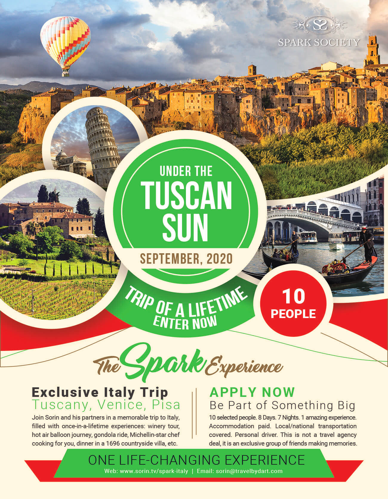 italy trip packages 2020