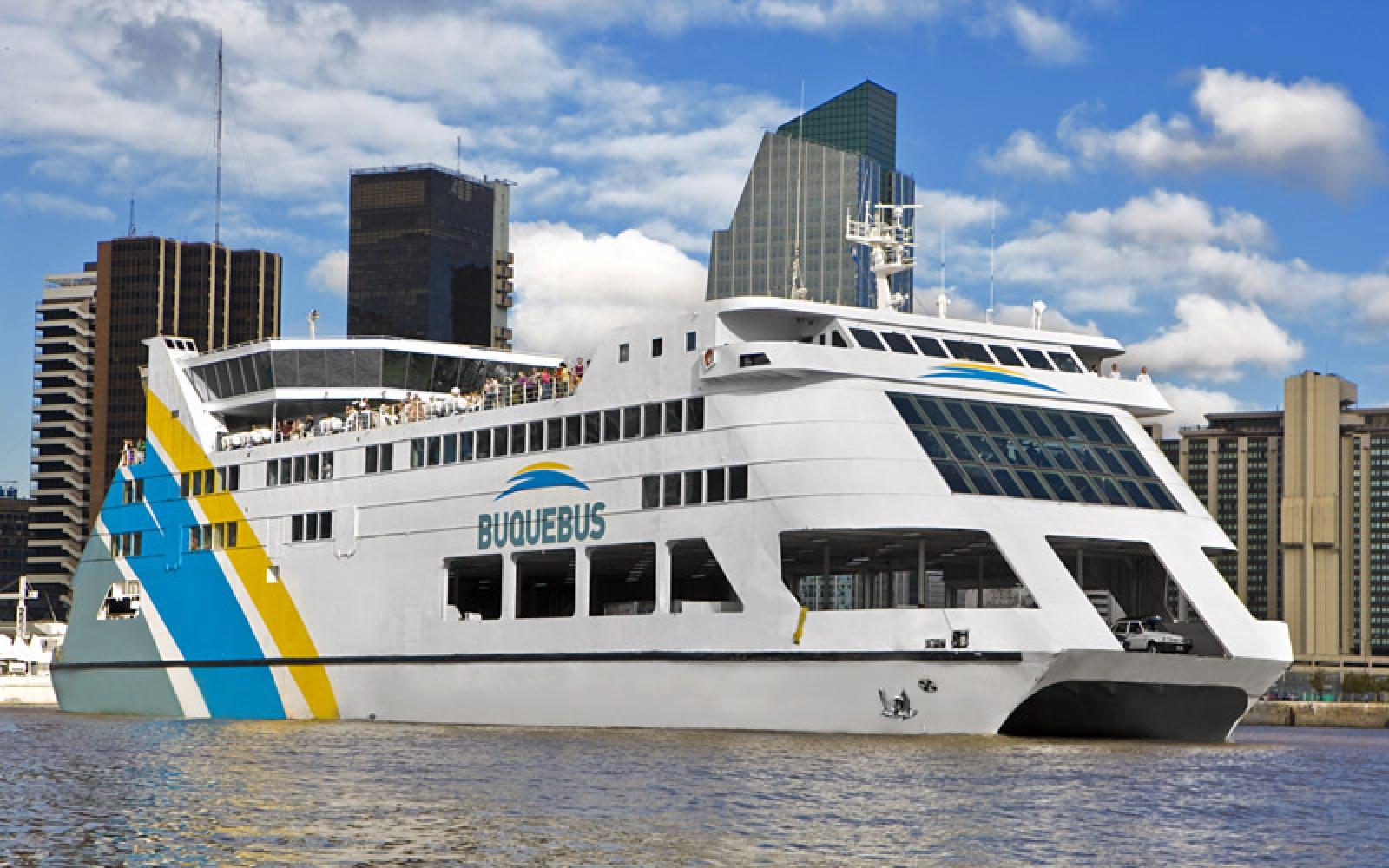 buienos aires montevideo buquebus ferry